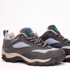 L.L Bean Women's Hiking Boot Grey/Blue Size 9